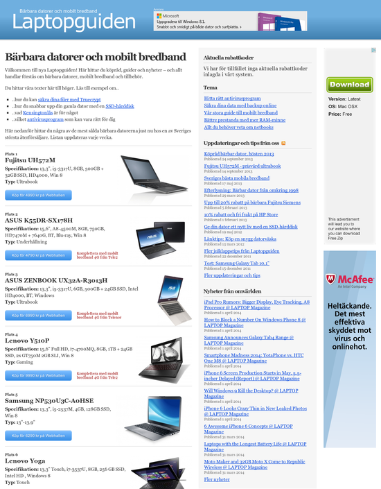 Laptopguiden